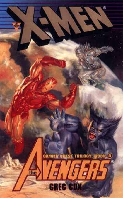 Bestselling Comics (2006) - X-Men and the Avengers (X-Men) by Greg Cox - Gamma Quest Trilogy Book 3 - Red Fighter - Blue Fighter - The Avengers - Greg Cox