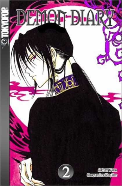Bestselling Comics (2006) - Demon Diary, Book 2 by Lee Yun Hee - Tokyopop - Demon Diary - Ponytail - Black Hair - Kara