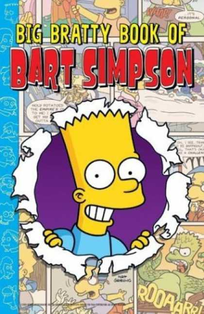 Bestselling Comics (2006) - Big Bratty Book of Bart Simpson by Matt Groening - Brat - Bart Simpson - Milhouse - Roar - Lisa