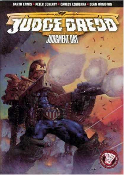 Bestselling Comics (2006) - Judge Dredd: Judgment Day (Judge Dredd (Graphic Novels)) by Garth Ennis
