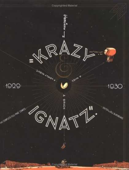 "Bestselling Comics (2006) - Krazy & Ignatz 1929-1930: ""A Mice, A Brick, A Lovely Night"" (Krazy Kat) by Georg - 1929 - 1930 - Krazy Ignatz - A Brick - A Mice"