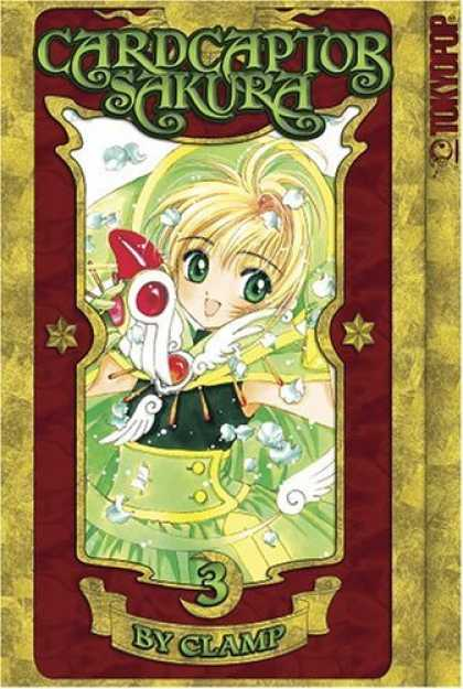 Bestselling Comics (2006) - Cardcaptor Sakura, Vol. 3 (Cardcaptor Sakura Authentic Manga) by Clamp - Tokyopop - Card Captor - Sakura - Clamp - 3