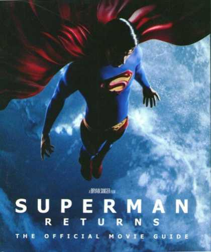 Bestselling Comics (2006) 3722 - Same As Movie Poster - Superman Hovering Over Earth - Superman Returns - Muscles Not Over Stated - Peaceful