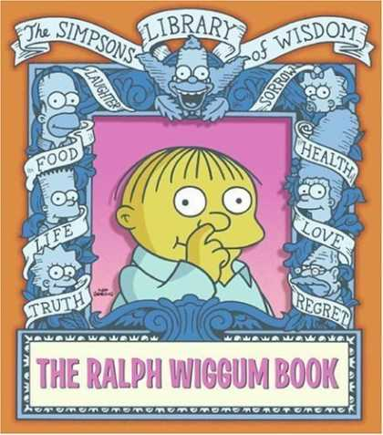 Bestselling Comics (2006) - The Ralph Wiggum Book (Simpsons Library of Wisdom) by Matt Groening