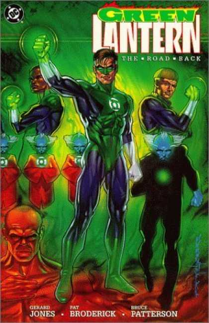 Bestselling Comics (2006) - Green Lantern: The Road Back by Gerard Jones - Dc - Green Lantern - Theroadback - Jones Patterson - Pat Broderick