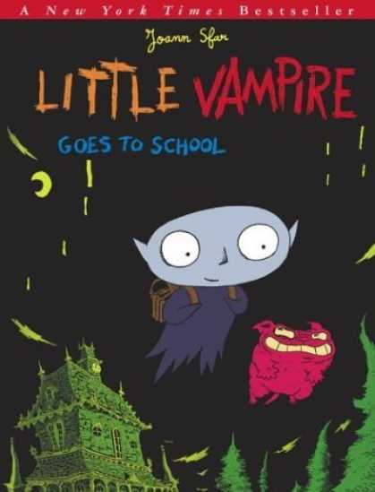 Bestselling Comics (2006) - Little Vampire Goes to School - Little Vampire - Goes To School - Joann Sfar - House - Moonlit