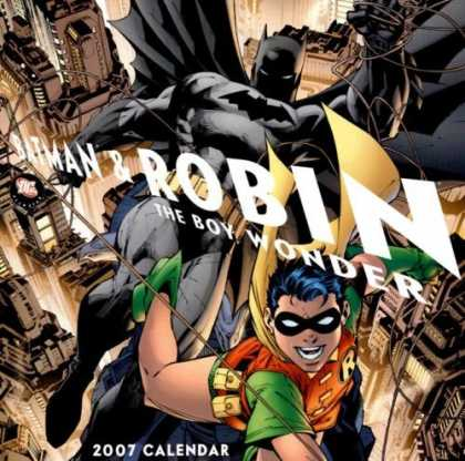 Bestselling Comics (2006) - All-Star Batman & Robin 2007 Calendar by Frank Miller