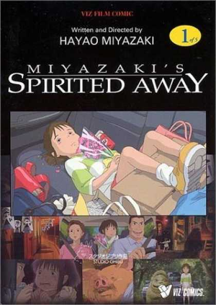 Bestselling Comics (2006) - Spirited Away, Vol. 1 - Hayao Miyazaki - Car - Child - Viz Film Comic - Family