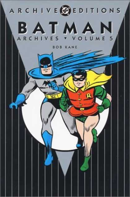 Bestselling Comics (2006) - Batman Archives, Vol. 5 (DC Archive Editions) by Bob Kane