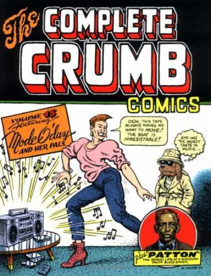 Bestselling Comics (2006) 3758 - The Complete Crumb Comics - Mode Oday - Boom Box - Music Notes - Dog