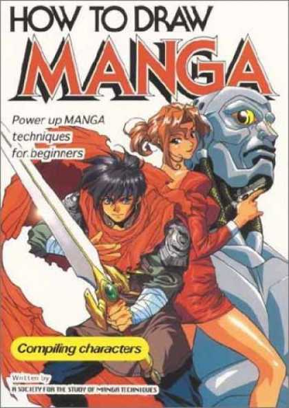 Bestselling Comics (2006) 3775 - How To Draw Manga - Man - Sword - Robot - Woman