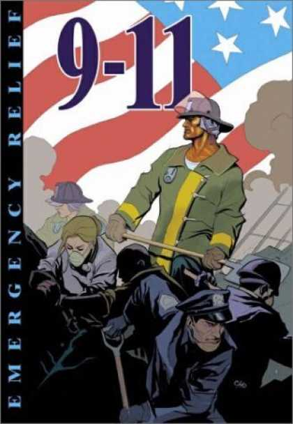 Bestselling Comics (2006) - 9-11: Emergency Relief by various - 9-11 - Rescue - Fireman - Police Man - Emergency Relief