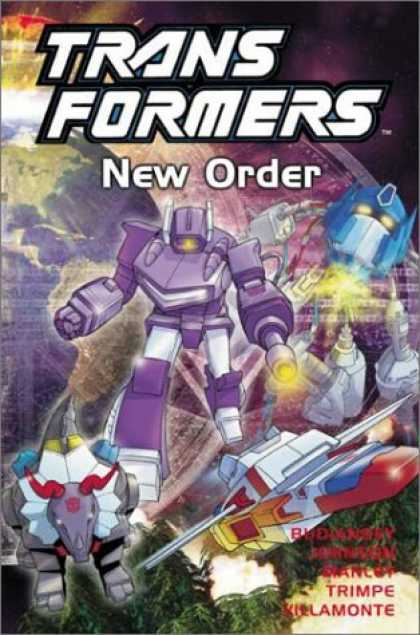 Bestselling Comics (2006) - Transformers, Vol. 2: New Order by William Johnson - Metal Men Attack