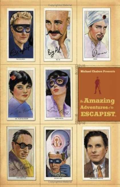 Bestselling Comics (2006) - Michael Chabon Presents...The Amazing Adventures of the Escapist Volume 2 (Amazi - Houdini - Masked Woman - Man With Turbin - Escapist - Magician