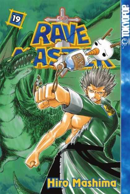 Bestselling Comics (2006) - Rave Master vol. 19 by Hiro Mashima - Tokyopop - Fist - Hiro Mashima - Rave Master - Dragon
