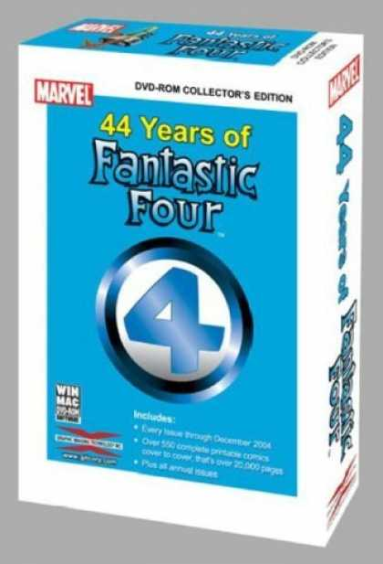 Bestselling Comics (2006) - 44 Years of Fantastic Four by Marvel Enterprises - Fantastic Four - 44 Years - Dvd - Collectors Edition - Set