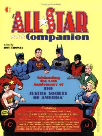 Bestselling Comics (2006) - All-Star Companion Volume 1 by Roy Thomas