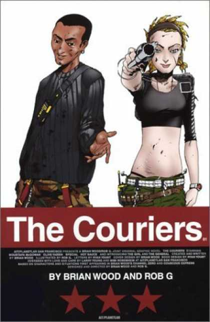 Bestselling Comics (2006) - The Couriers 01 by Brian Wood