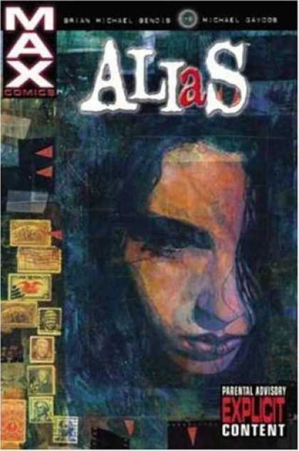 Bestselling Comics (2006) - Alias Vol. 1 by Brian Michael Bendis - Alias - Explicit Content - Stamps - Troubled Young Man - Dark