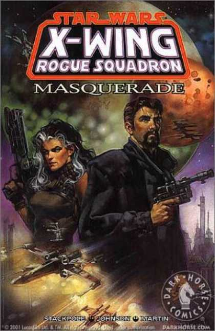Bestselling Comics (2006) - Masquerade (Star Wars: X-Wing Rogue Squadron, Volume 8) by Michael A. Stackpole - Luke Skywalker - Jedi - Battle - Light Sabers - Yoda