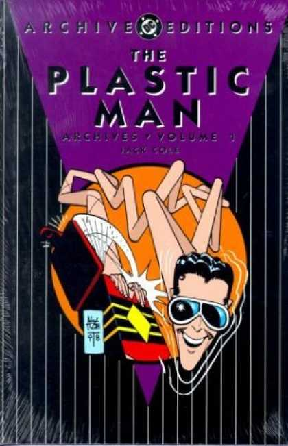 Bestselling Comics (2006) - The Plastic Man Archives, Vol. 1 (DC Archive Editions) by Jack Cole