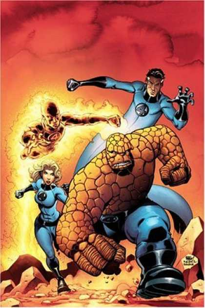 Bestselling Comics (2006) - Fantastic Four, Vol. 2 by Mark Waid - Fantastic Four - Invisible Woman - The Thing - Mr Fantastic - Human Touch