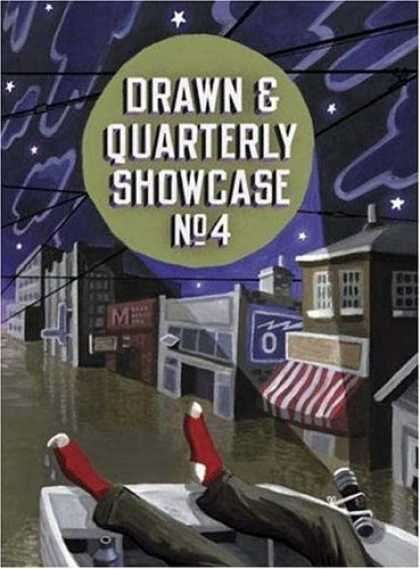 Bestselling Comics (2006) - Drawn & Quarterly Showcase: Book Four (Drawn & Quarterly) - Torch - Stars - Sky - Clouds - Road