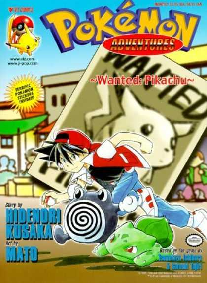 Bestselling Comics (2006) - Pokemon Adventures, Volume 2: Wanted Pikachu (Pokemon Adventures) by Hidenori Ku