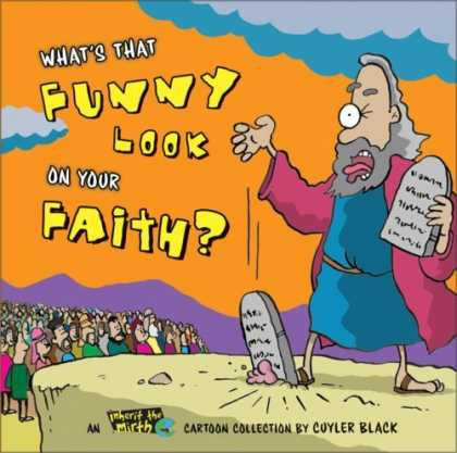 Bestselling Comics (2006) - What's That Funny Look on Your Faith?: An Inherit the Mirth Collection by Cuyler