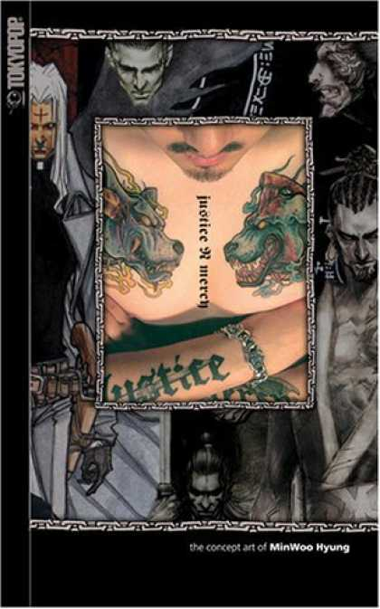 Bestselling Comics (2006) - Justice N Mercy: The Concept Art Of Min-Woo Hyung - Tokyopop - Minwoo Hyung - Justice And Mercy - Tattoos - Fantasy Stories