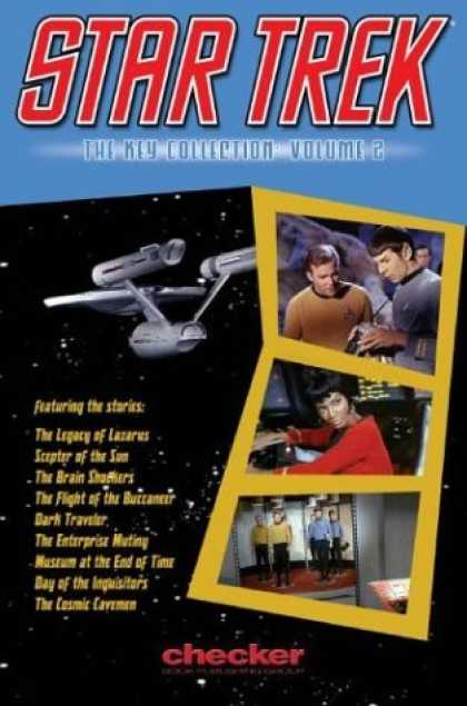 Bestselling Comics (2006) - Star Trek: The Key Collection, Vol. 2 by Various - The Legacy Of Lazarus - Scepter Of The Son - The Flight Of The Buccaneer - Dark Traveler - Museum At The End Of Time