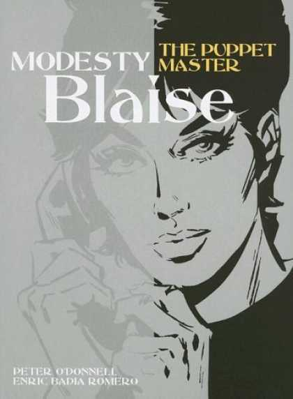 Bestselling Comics (2006) - Modesty Blaise: The Puppet Master (Modesty Blaise (Graphic Novels)) by Peter O'D - Puppet Master - Telephone - Lady - Blaise - Big Eyes