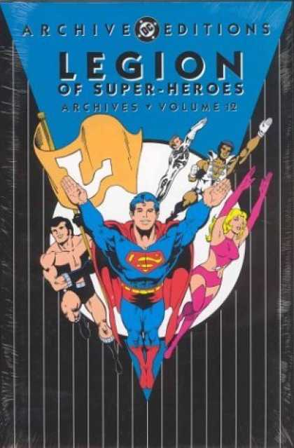 Bestselling Comics (2006) - Legion of Super-Heroes Archives, Vol. 12 (DC Archive Editions) by Jim Shooter - Archive Editions - Superheroes - Fliing Peolpe - Volume 12 - Costumes