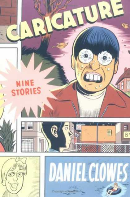 Bestselling Comics (2006) - Caricature by Daniel Clowes