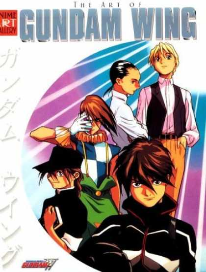 Bestselling Comics (2006) - Art of Gundam Wing