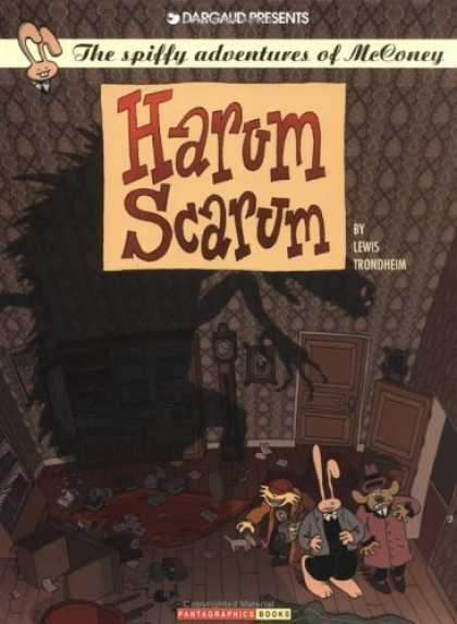 Bestselling Comics (2006) - Harum Scarum: The Spiffy Adventures of McConey Vol. 1 by Lewis Trondheim