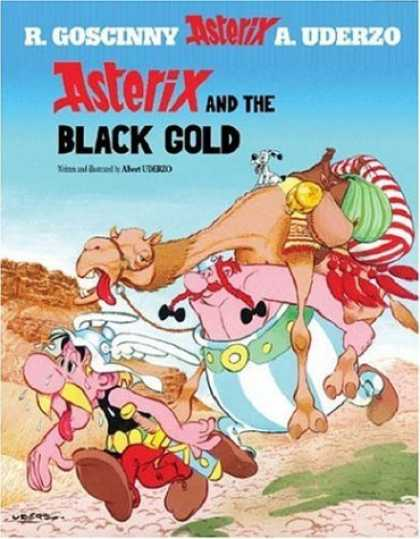 Bestselling Comics (2006) - Asterix and the Black Gold (Asterix (Orion Paperback)) by Albert Uderzo