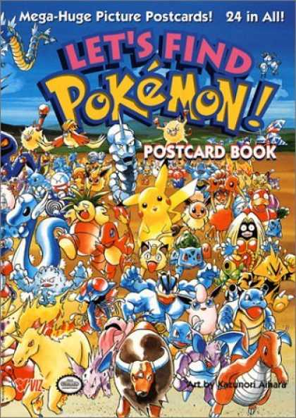 Bestselling Comics (2006) - Let's Find Pokemon! Postcard Book