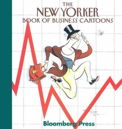 Bestselling Comics (2006) - The New Yorker Book of Business Cartoons - Stock Broker - Red Line - Briefcase - Top Hat - Brown Vest
