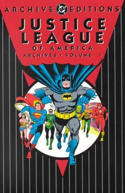 Bestselling Comics (2006) - Justice League of America Archives, Vol. 1 (DC Archive Editions) by Gardner Fox - Justice League - Wonder Woman - Batman - Superman - Dc Comics