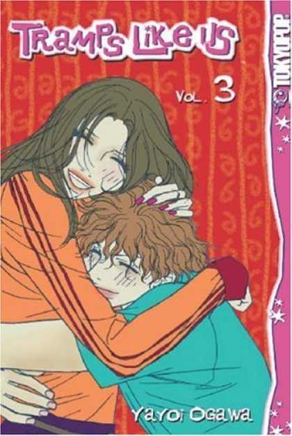 Bestselling Comics (2006) - Tramps Like Us 3 (Tramps Like Us (Graphic Novels)) by Yayoi Ogawa - Tramps Like Us - Vol 3 - Hugging - Pink Finger Nails - Ogawa