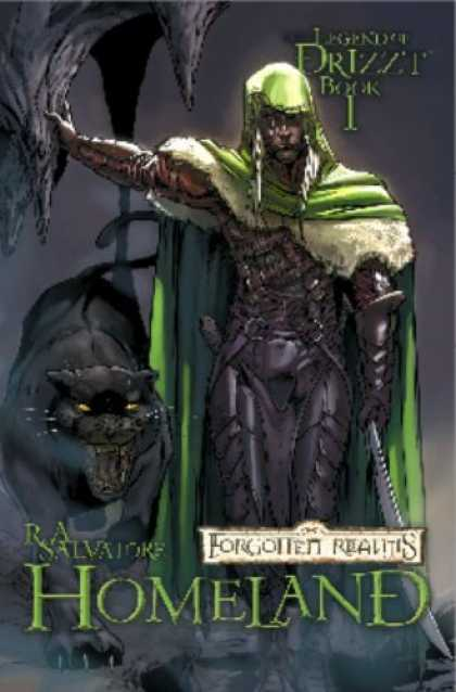 Bestselling Comics (2006) - Forgotten Realms the Legend of Drizzt Book 1: Homeland by R. A. Salvatore
