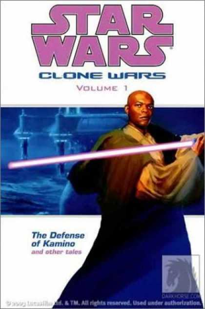 Bestselling Comics (2006) - The Defense of Kamino and Other Tales (Star Wars: Clone Wars, Vol. 1) by John Os - Light Saber - Defense - Kamino - Other - Tales