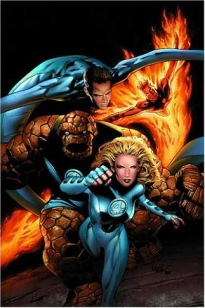 Bestselling Comics (2006) - Ultimate Fantastic Four, Vol. 5: Crossover by Mark Millar