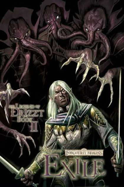 Bestselling Comics (2006) - Forgotten Realms: The Dark Elf Trilogy Book II Exile (The Legend of Drizzt) by R