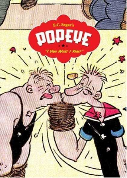 "Bestselling Comics (2006) - Popeye Vol. 1: ""I Yam What I Yam"" by E. C. Segar - Pipe - Ko - Boxing - Glove - Tongue"