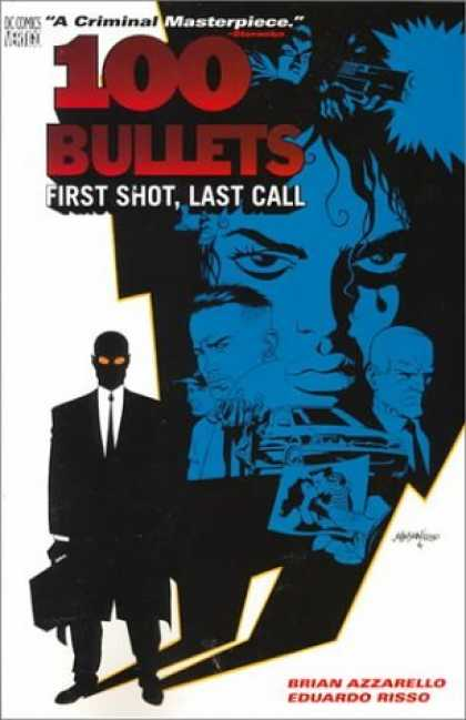 Bestselling Comics (2006) - 100 Bullets Vol. 1: First Shot, Last Call by Brian Azzarello - A Criminal Masterpiece - 100 Bullets - First Shotlast Call - Faces - Man