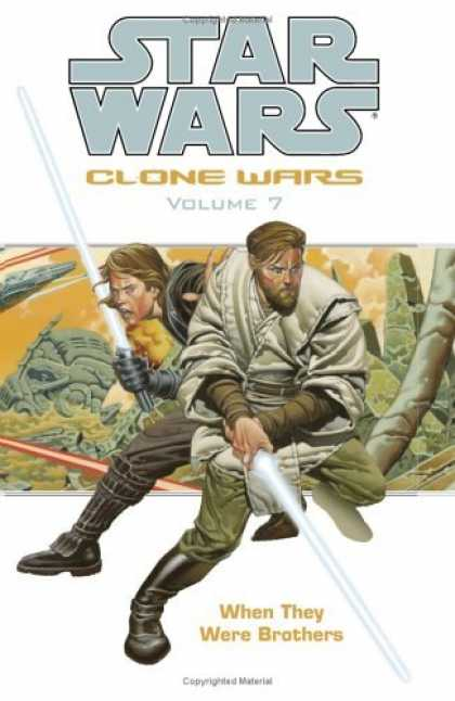 Bestselling Comics (2006) - When They Were Brothers (Star Wars: Clone Wars, Vol. 7) by Haden Blackman