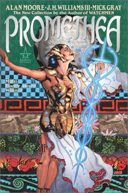 Bestselling Comics (2006) - Promethea (Book 1) by Alan Moore - Promethea - The New Collection By The Author Of Watchmen - Multi-eisner Award Winner - Godess - Sword