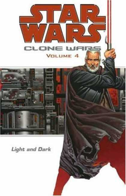 Bestselling Comics (2006) - Light and Dark (Star Wars: Clone Wars, Vol. 4) by John Ostrander - Star Wars - Clone Wars - Volume 4 - Gun - Light And Dark